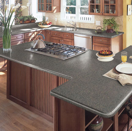 Alternatives To Granite Countertops : Alternatives To Granite Countertops - Home Makeover Diva