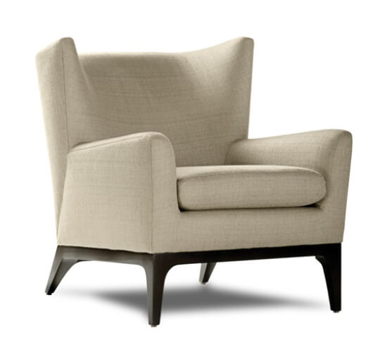 American Leather Wingback Chairs