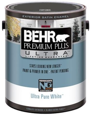 New Behr Premium Plus Ultra Paint