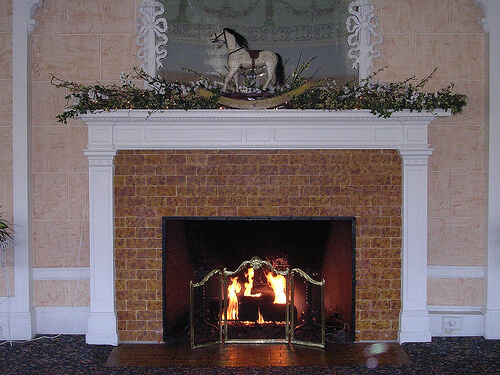 Brick Fireplace Makeover Home Diva The
