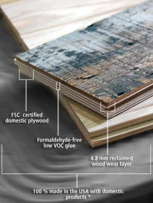 Eco Friendly Wood Flooring formaldehyde free eco-friendly flooring | the home makeover diva