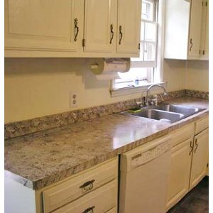 Granite Over Existing Countertop   Home Makeover Diva | The Home Makeover  Diva