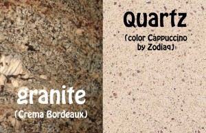 Granite or Quartz Countertops