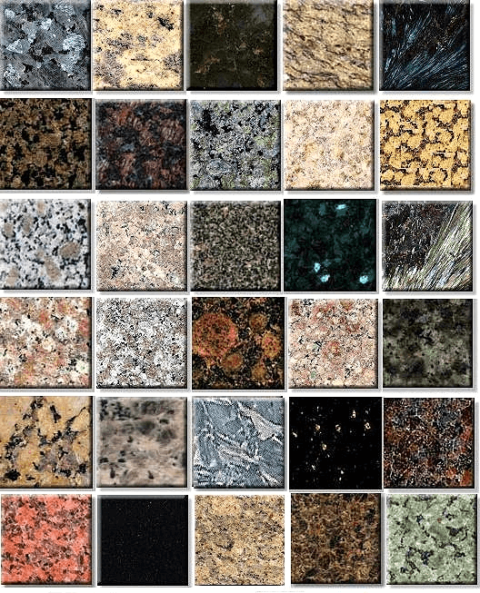 Granite Top Colours : How To Choose Granite Colors? - Home Makeover Diva