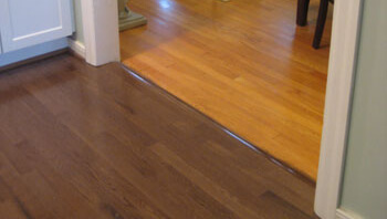 Matching Wood Flooring Home Makeover Diva The Home