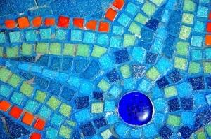 Mosaic Glass Tile Backsplash Design Ideas