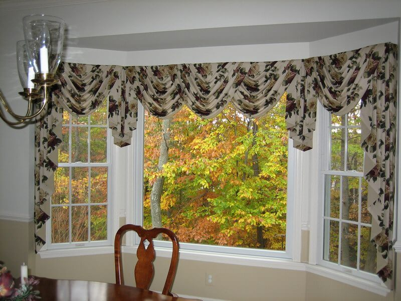 bay window treatments, bay window treatment ideas, window