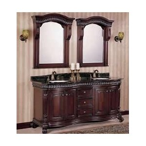 Wood Bathroom Vanity Design