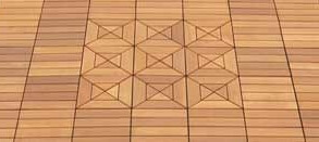 Wooden Patio Tiles And Wooden Deck Tiles